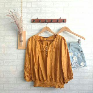 Mustard Top Forever21