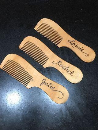 personalized comb