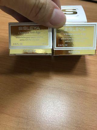 🚚 全新現貨 Sisley 抗皺活膚御緻駐顏霜 Extra Rich 5ml 四罐一組 期限20200819