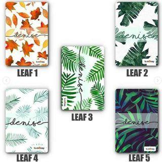 (PO) Fallen Leaf Custom Ezlink Card