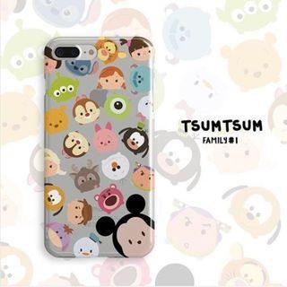 (PO) Tsumtsum Family 01 Edition Custom Case