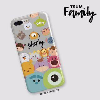 (PO) Tsumtsum Family 10 Edition Custom Case