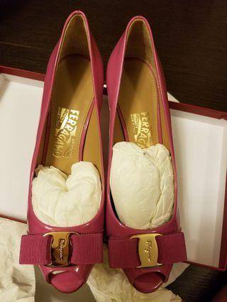 📍最後減價 Ferragamo Shoes 7.5D 100%Real, 100% New