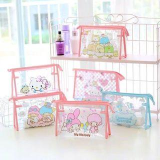 [PO] Cartoon Characters PVC Pouch