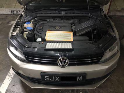 Volkswagen Jetta 2012 1.4tsi Hurricane Fiter