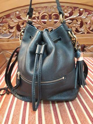 FOSSIL VICKERY DRAWSTRING tas serut shoulder bag