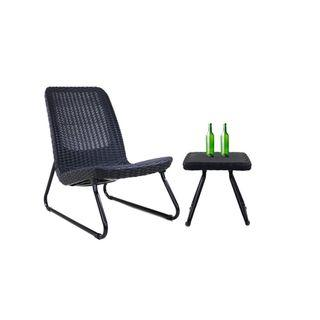 Rio Armchair + Table by Keter