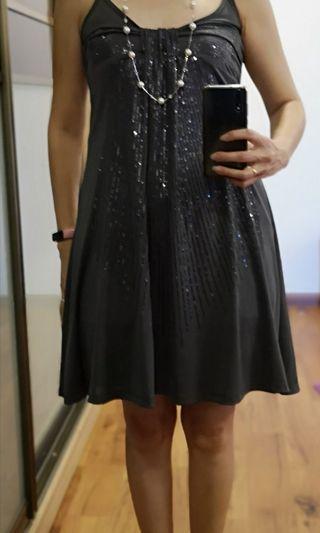 Emmanuel sequins cocktail dress