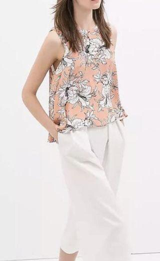 Zara Floral Dress Top