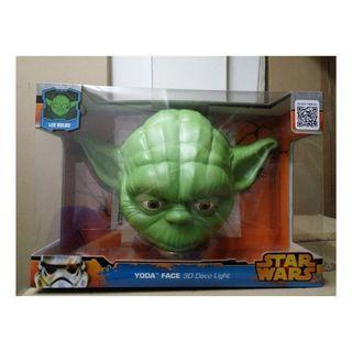 Star Wars Yoda Face 3D Deco Light FX