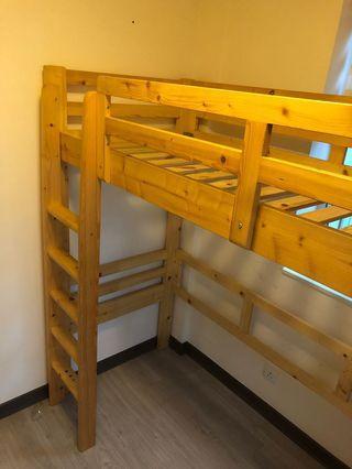 碌架床 高床架 bunk bed