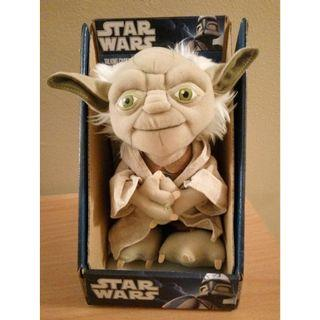 "Star Wars Yoda Talking Plush 7"""