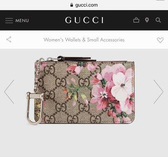 Gucci Blooms Key Pouch