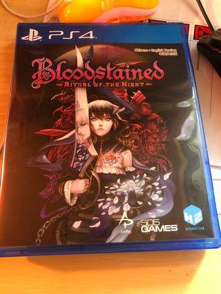 PS4 game 血咒之城 bloodstain ritual of the night