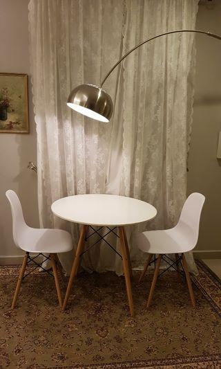 Eames Chair and round table