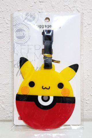 Pikachu Pokeball Luggage Tag