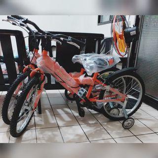 全新/限花蓮自取/SANHOW兒童自行車登山車/輔助輪可拆