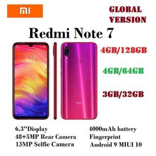 Xiaomi Redmi Note 7 - Pink/gold Available