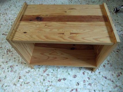 Side table pinewood IKEA