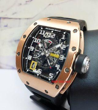 Brand New Richard Mille RM030 Rose Gold