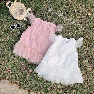 ⭐INSTOCK⭐ Leila Sweet Lightly Shimmered Tutu Dress