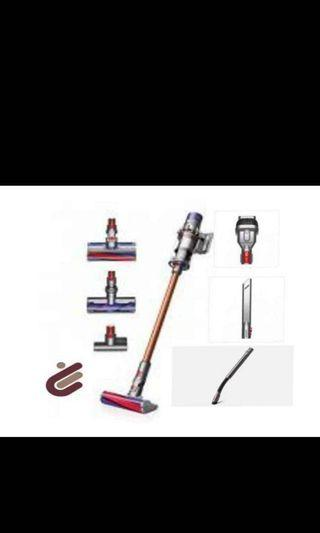Dyson V10 Absolute plus. 2 heads and 4 tools and free Stubborn Dirt or Mini Soft Dusting Brush.