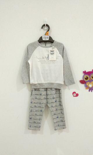 🆕9-12M Mothercare PetterRabbit Pyjamas