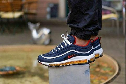 NIKE AIRMAX 97 NAVY RED