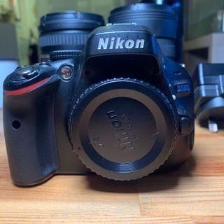 Nikon d5100 body+ sigma 8-16mm+ tamron 18-270mm