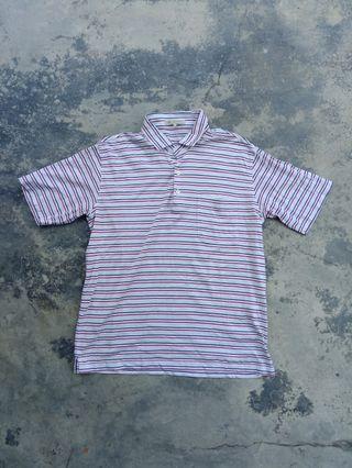 Henri luc chapius polo stripe t shirt
