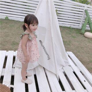 ⭐INSTOCK⭐ Anna Ruffle Hem Flora Dress