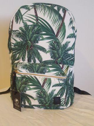 NEW Escape to Paradise palm print laptop backpack