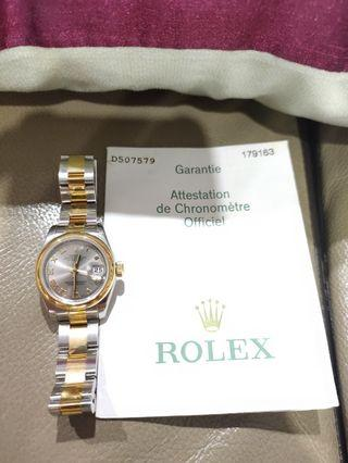 Rolex - Authentic Ladies Watch (Model 179163)