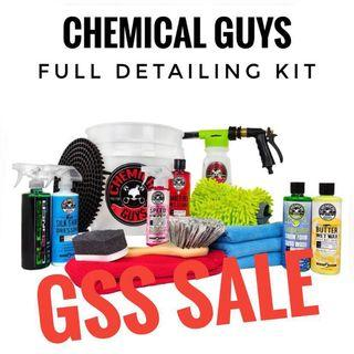 ⚡️GSS SALE Full Detailing Kit Chemical Guys Detailing Grooming