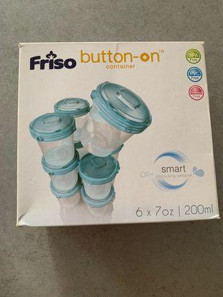 🚚 A box of 6 Friso Stackable interlocking storage containers
