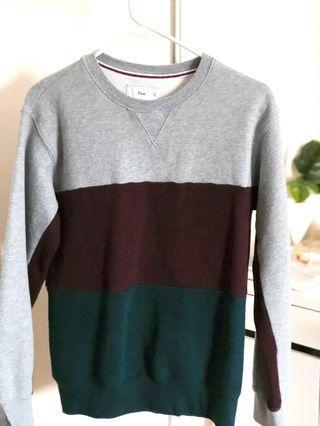 TNA Colour block Sweater
