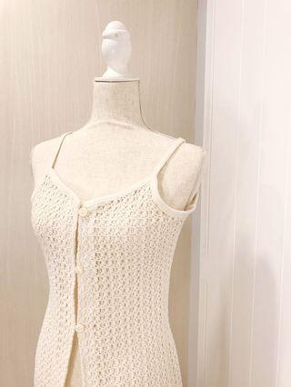 Minimalist Bohemian Crochet Seashell Cardigan Jacket