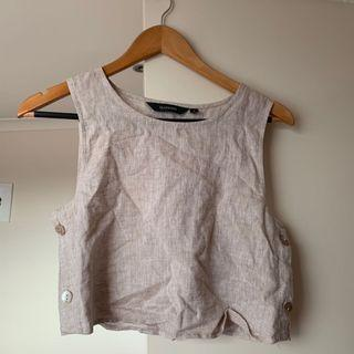 Glassons crop tank top