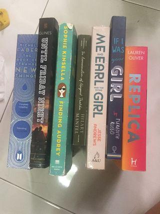 BOOKS CLEARANCE SALE!!! (part 1)