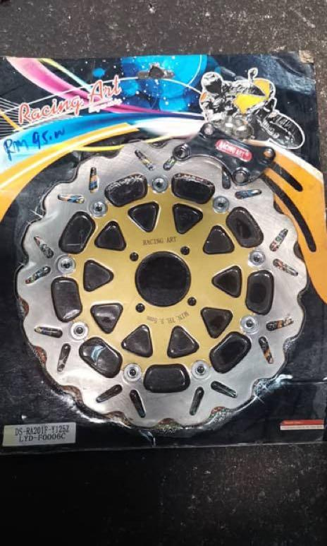 125z racing ventilated disc, Motorbikes on Carousell