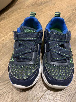 Blue Green sneakers with velcro size EUR 28