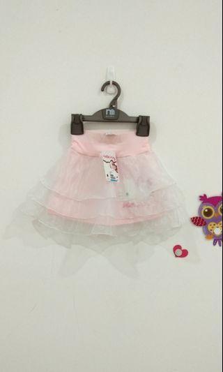 🆕2-3Y Hello Kitty Ruffle Skirt