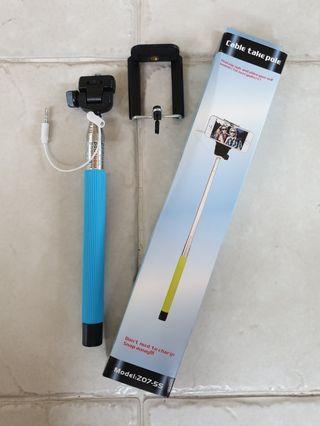 🚚 Cable takepole - Selfie Monopod