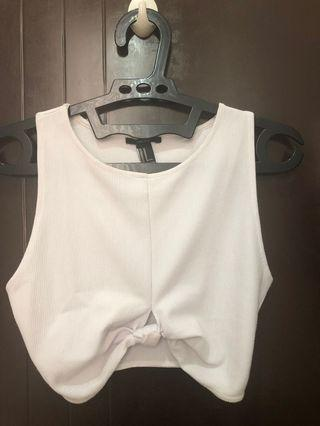 FOREVER21 WHITE TANK TOP