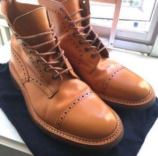 Sale: Tricker's x Junya Watanabe Tan Boot UK 聯名特版 U.K.