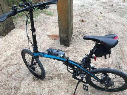 Vert V8 upgraded 9 speed folding bicycle bike