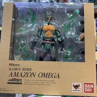 S.H.Figuarts Kamen Rider Amazon Omega Bandai 2016 Tamashii Nations SHF action figure toy