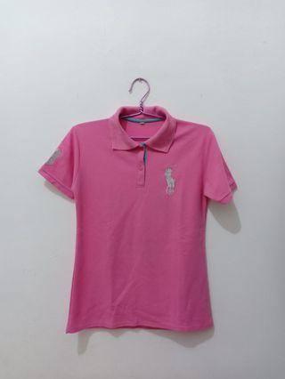 Preloved Pink Polo KW