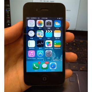 APPLE iphone 4 手機外觀功能都正常 可通話上網Line等