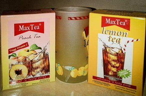 Minuman Lemon Tea & Peach Tea